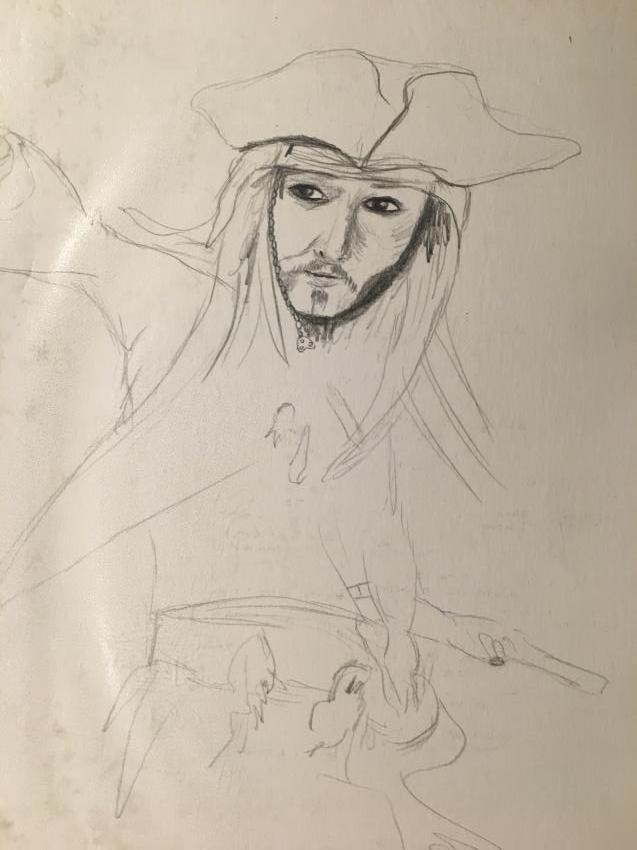 Johnny Depp par Elwinn